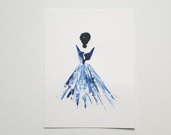 Woman in Blue 12