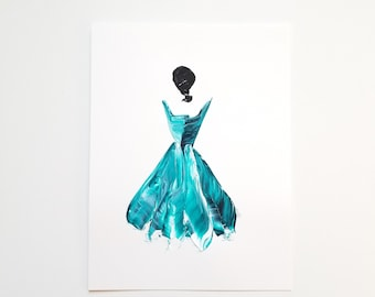 Woman in Turquoise 6