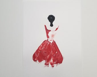 Woman in Red 11