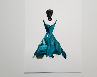 Woman in Turquoise 5