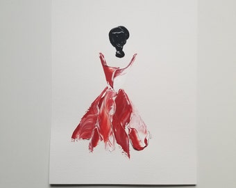 Woman in Red 7