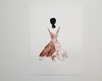 Woman in Copper 1