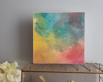 abstract art, abstract painting, wall art, office art, bedroom art, contemporary art,  colorful art, statement art, colorful art BC2