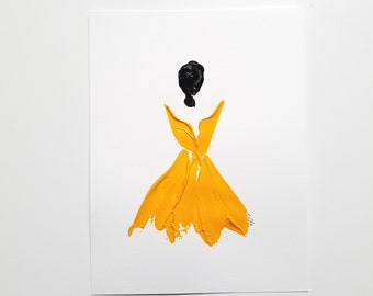 Woman in Yellow 1