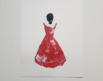 Woman in Red 12
