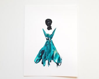 Woman in Turquoise 11