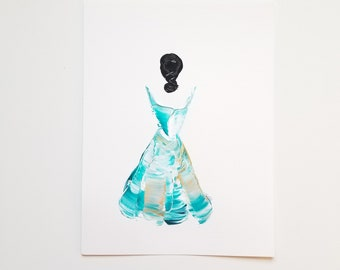 Woman in Turquoise 14