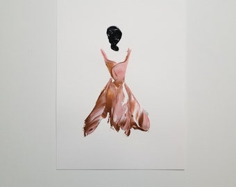Woman in Copper 2