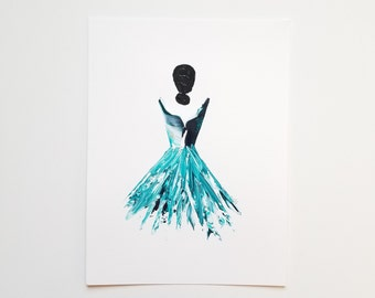 Woman in Turquoise 17
