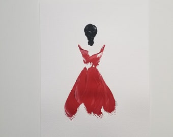 Woman in Red 6