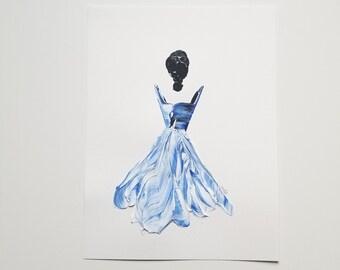Woman in Blue 9