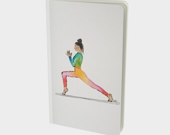 Yoga Notebook in Rainbow