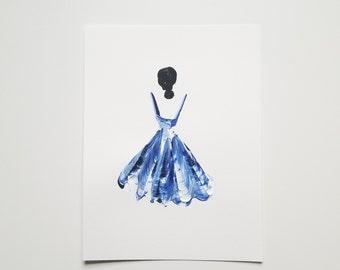 Woman in Blue 14