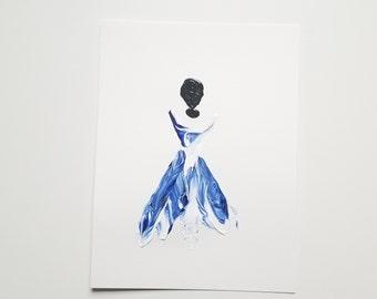 Woman in Blue 15