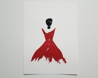 Woman in Red 8
