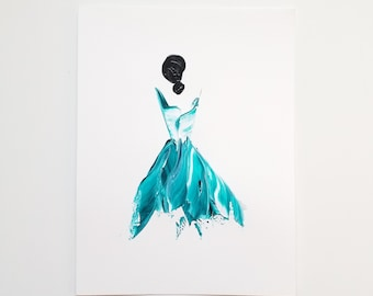 Woman in Turquoise 9