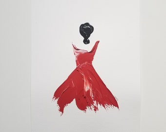 Woman in Red 9