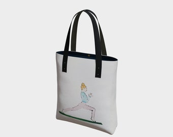 Yoga in Pink Tote