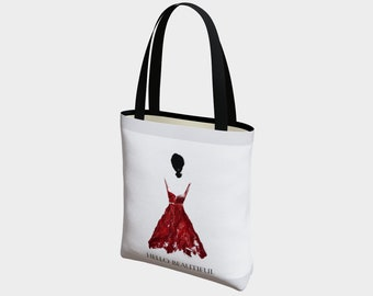Beautiful in Red Tote