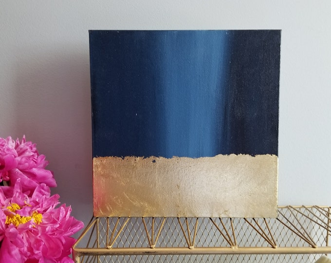Textured Acrylic abstract wall art by Margaret Lipsey. Colorful and expressive artwork for your home or office. - Dusk