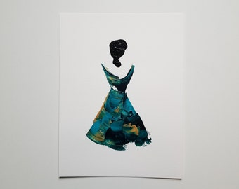 Woman in Turquoise 3