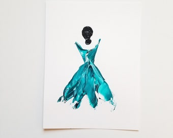 Woman in Turquoise 10
