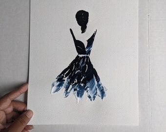 Woman in Blue 7