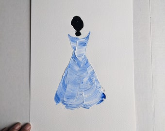 Woman in Blue 5