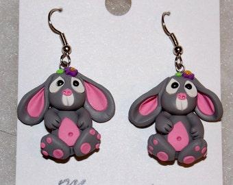 Lop Eared Bunny Earrings