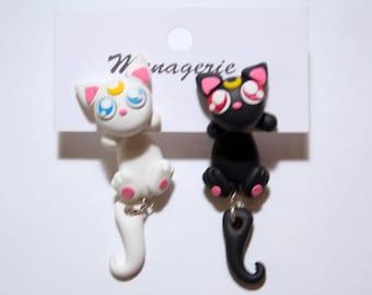 Luna and Artemis Earrings