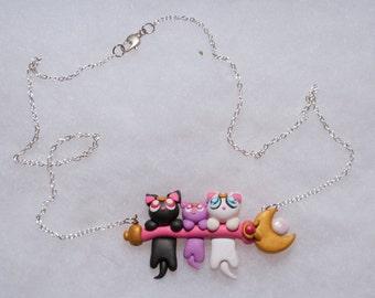 Luna, Artemis and Diana Necklace