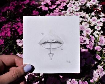 Studded Lips