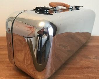 Aluminum suitcase aviation furniture