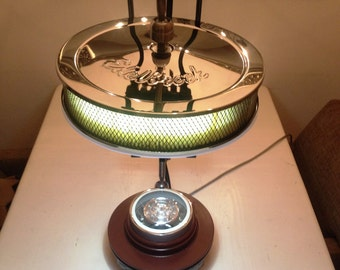 Edelbrock Industrial Automotive desk lamp handmade