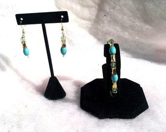 Aventurine & Howlite Jewelry Set