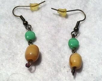 Tri-colored Earrings