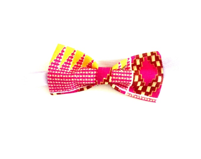 African print bow tie. Wax. Ankara. 100% cotton. Made in Ghana.
