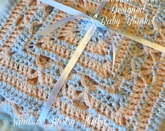 Unisex Baby Blanket for Newborns/Infants = Heirloom Keeper