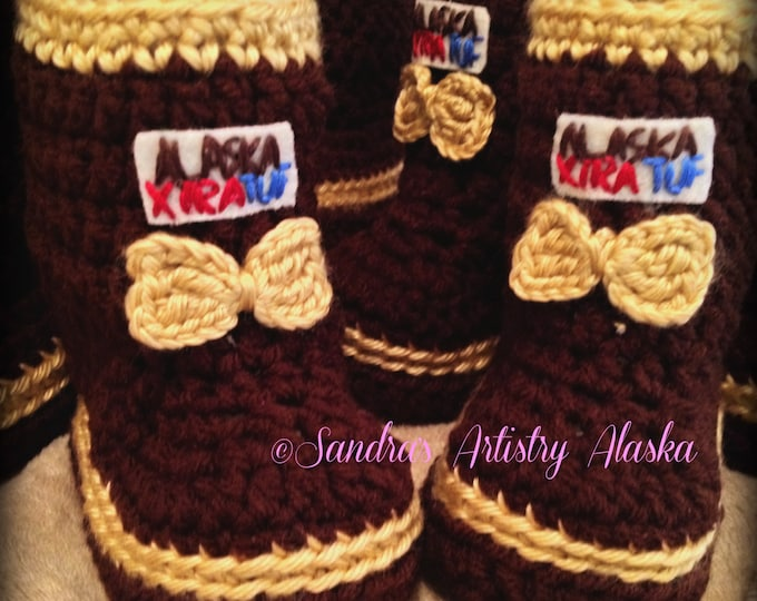 ALASKA XTRA TUF Booties (Girls: 5 Infant Szs)