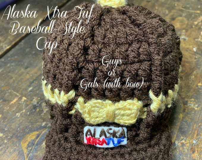 ALASKA XTRA TUF Baseball-Style Cap-Gals: 6 Sizes (Infant to Adult)