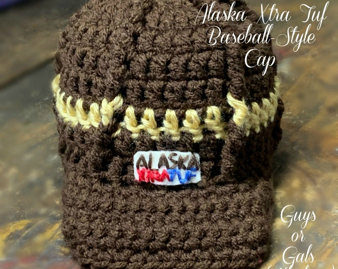 ALASKA XTRA TUF Baseball-Style Cap-Unisex/Guys: 6 Sizes (Infant to Adult)