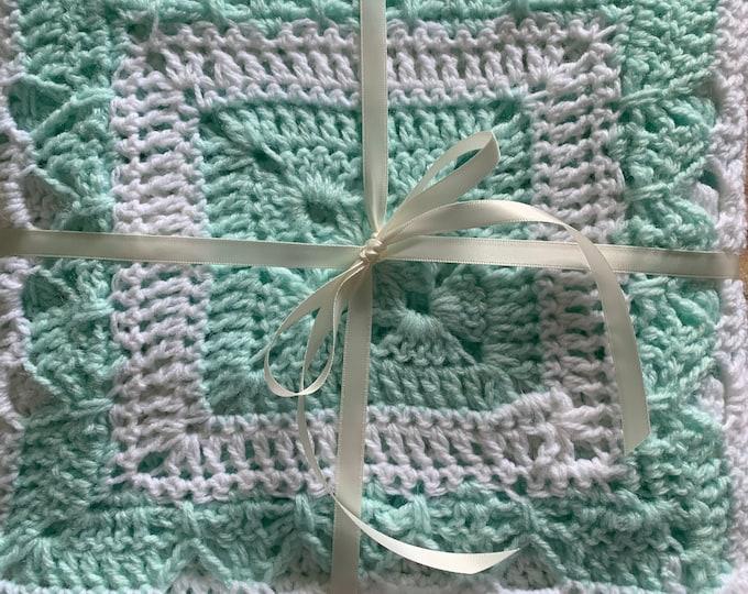 Unisex Baby Blanket for Newborns/Infants = Heirloom Keeper