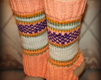 YOGA SOCKS - (3 color schemes) Knit
