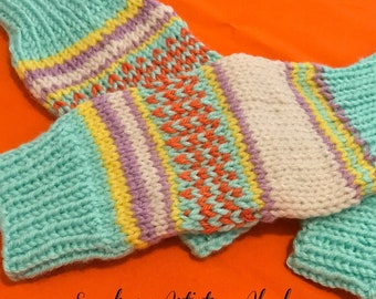 YOGA SOCKS - (3 color schemes) Knit
