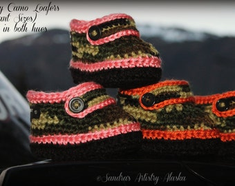 ALASKA CAMO Loafers-Baby Gals/Guys (5 Infant Sizes)