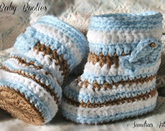 ALASKAN BABY BOOTIES (Guys)