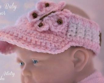 ALASKAN BABY VISOR (Gals)-Three infant sizes