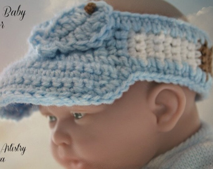 ALASKAN BABY VISOR (Guys) - One-size Fits Most Infants