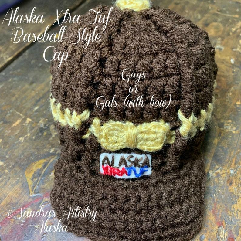 ALASKA XTRA TUF Baseball-Style Cap-Gals: 6 Sizes Infant to image 0