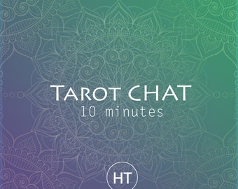 Tarot Chat Online / 10 min Accurate Tarot Reading (Same Day Psychic Reading / Emergency Reading)